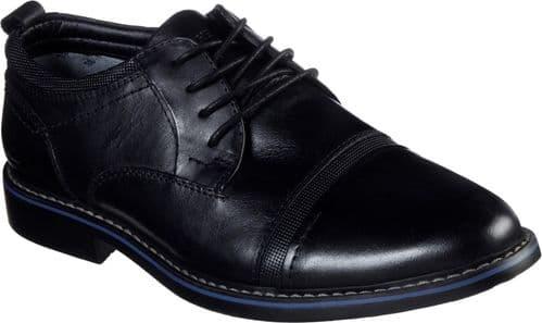 Skechers Bregman Selone Lace Mens Shoes Black